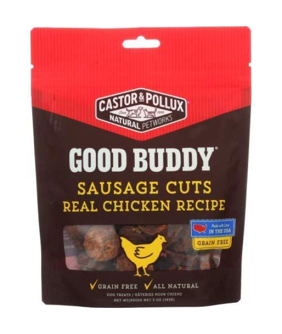 Castor & Pollux Dog Good Buddy Sausage Cuts Chicken 5 Oz (Pack Of 2)