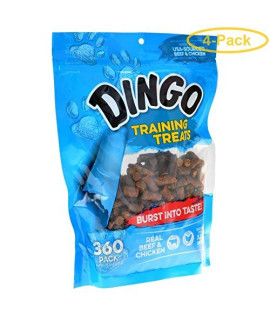 Dingo Training Treats 360 Pack - Pack Of 4
