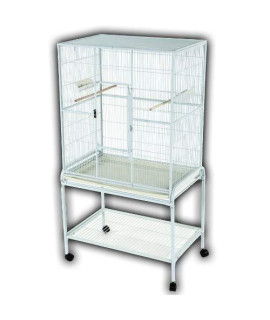 "32""x21"" Flight Cage & Stand 13221 Blue"