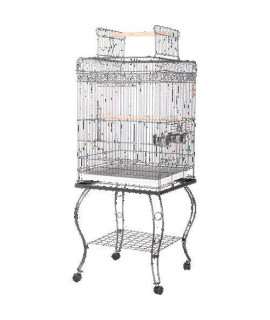 Economy Play Top Cage 600H Black
