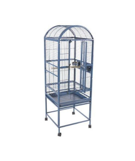 Small Dome Top Bird Cage 9001818 Platinum