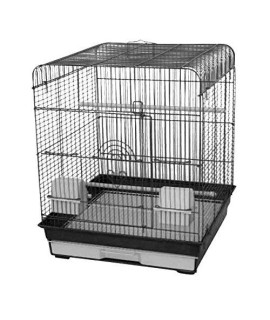 "4 Pack of 18""x18"" Flat Top Cage (2 BK/ 2 PW)"