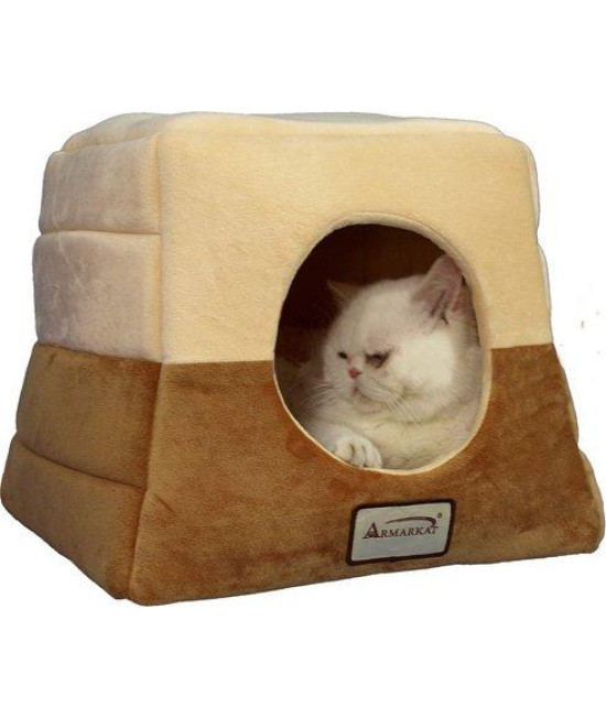 Armarkat 16-Inch by 16-Inch Cat Bed