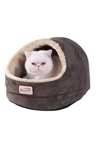 Armarkat Laurel Green Cat Bed Size, 18-Inch by 14-Inch