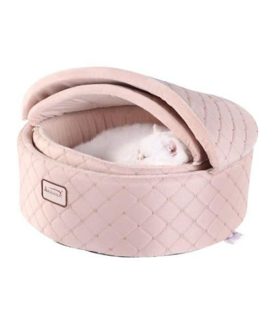 Armarkat Cat Bed, Small, Light Apricot