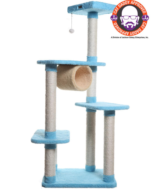 Armarkat Premium Cat Tree Model X6105, Sky Blue