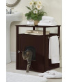 Walnut Cat Washroom