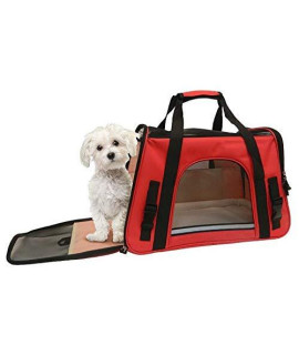"Coleman Adjustable Shoulder Strap Pet Carrier Open Dimensions: 17"" Wide X 10 Tall X 7.5"" Deep"