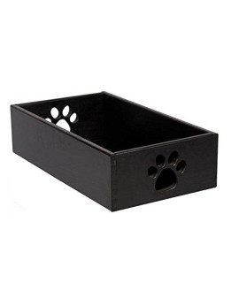 Small Pet Toy Box - Classic Black