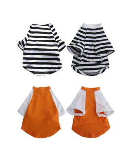Pretty Pet Apparel with Sleeves Asst 1 (set of 2)