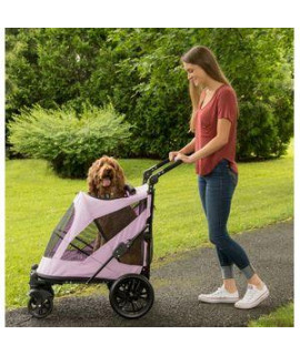 EXCURSION NO-ZIP PET STROLLER, MOUNTAIN LILAC