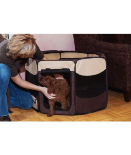 Octagon Pet Pen With Removable Top