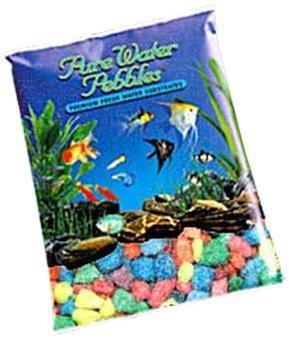 Worldwide Imports AWW70305 Color Gravel, 5-Pound, Neon Rainbow