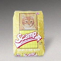 GOLDEN CAT COMPANY 260001 Scamp Cat Litter Bag, 25-Pound