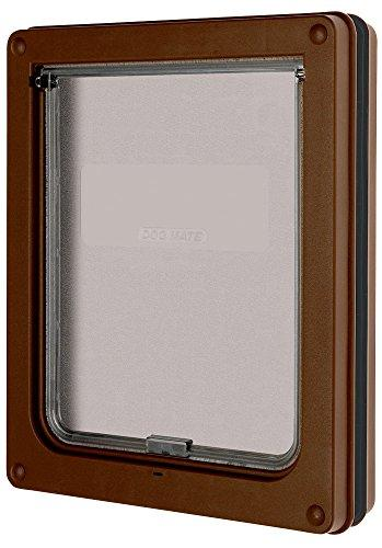 Dog Mate Medium Dog Door Brown