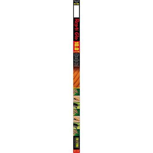Exo Terra Repti Glo 10.0 Desert Terrarium Lamp, 14-Watt, 15-Inch