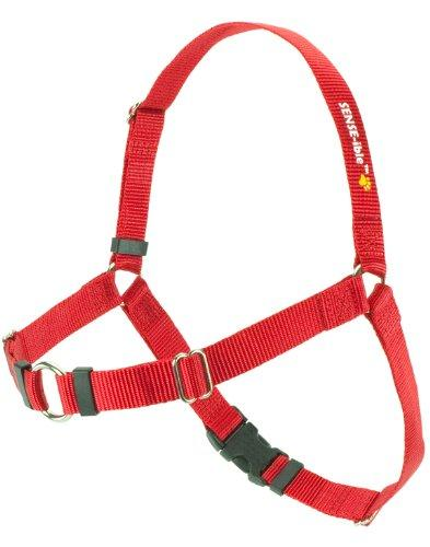 SENSE-ible No-Pull Dog Harness - Red Large by Softouch