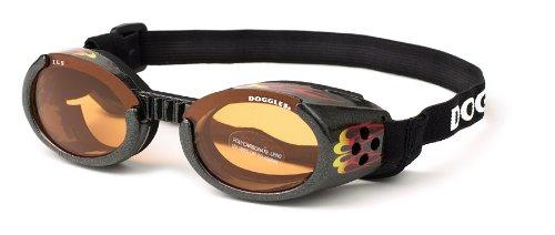 ILS Lense Dog Goggles XL in Racing Flames