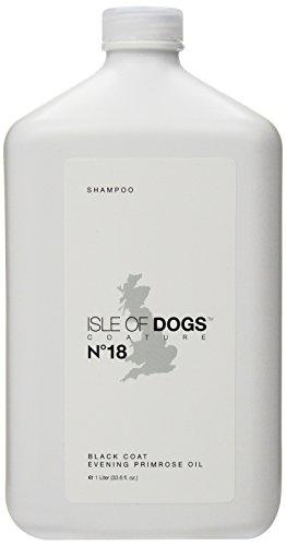 Isle of Dogs Coature No. 18 Black Coat Evening Primrose Oil Dog Shampoo, 1 liter