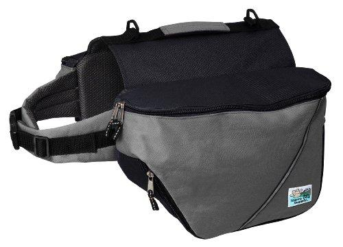 Doggles Dog Backpack, Extreme XXS, Gray/Black