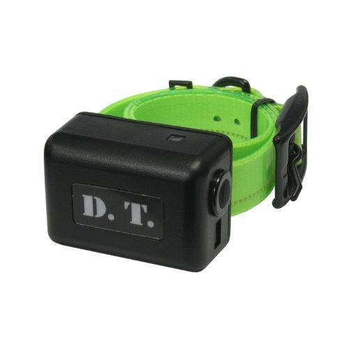 DT Systems Add-On or Replacement Dog Training Collar Receiver, Fluorescent Green