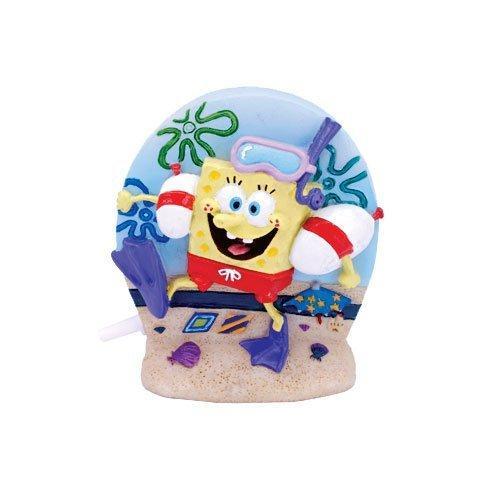 Penn-Plax Spongebob Aerating Ornament for Aquarium