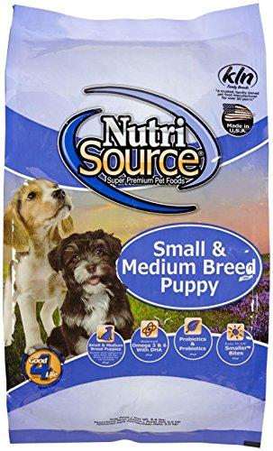 Tuffys Pet Food NutriSource 6.6-Pound Chicken and Rice Formula Breed Dry Puppy Food, Small/Medium
