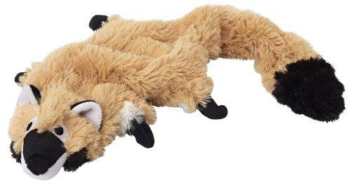 Doggles Plush Racoon, Skinny or Stuff with Bottle, Dog Toy