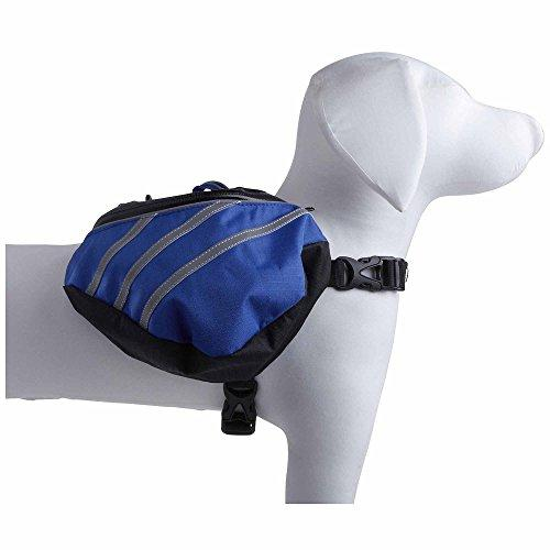 Pet Life Dupont Everest Backpack, Blue/Grey, Small