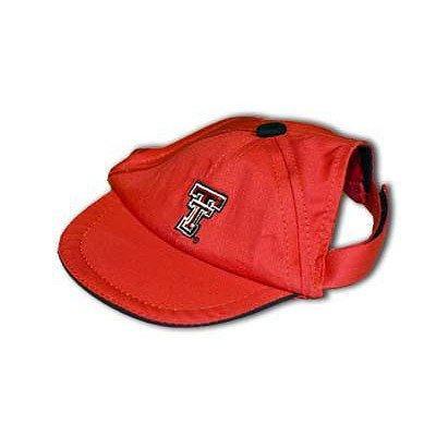 Sporty K9 Collegiate Texas Tech Red Raiders Dog Cap, Large