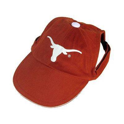 Sporty K9 Collegiate Texas Longhorns Dog Cap, Large  - New Design