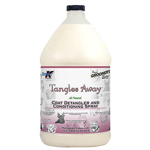 Double K Industries Groomers Edge Tanglesaway Gallon