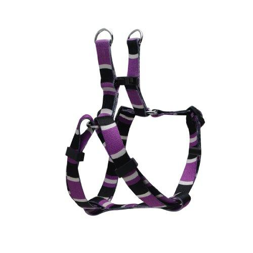Dogit Style Adjustable Harness, Body 8 by 11-Inch, XX-Small, Cobra, Purple