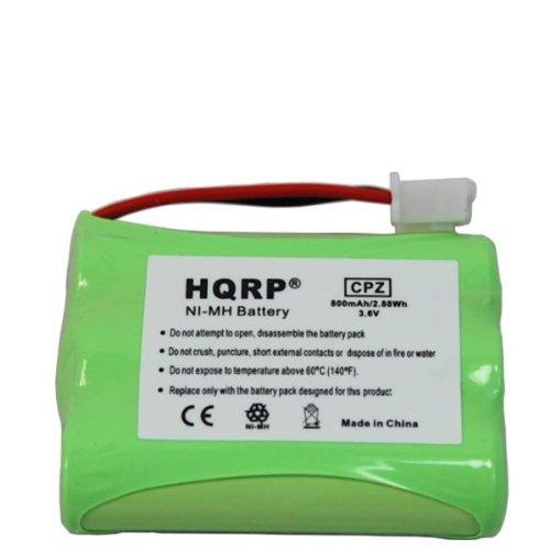 HQRP Battery for Tri-tronics Multi-Sport 2S, Multi-Sport 3S, Sport 50S, Sport 60S, Sport Series- 50, 60, 65BPR, Pro 500XL, Pro 500XLS Remote Controlled Dog Training Collar Receiver plus Coaster
