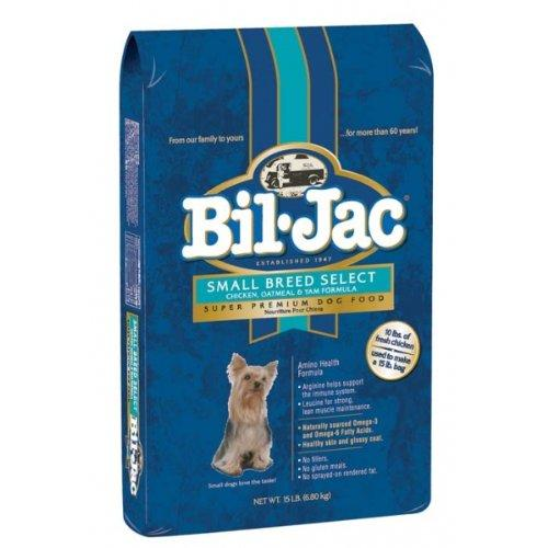 Bil-Jac 319064 Small Breed Select Dry Food For Dogs, 15-Pound