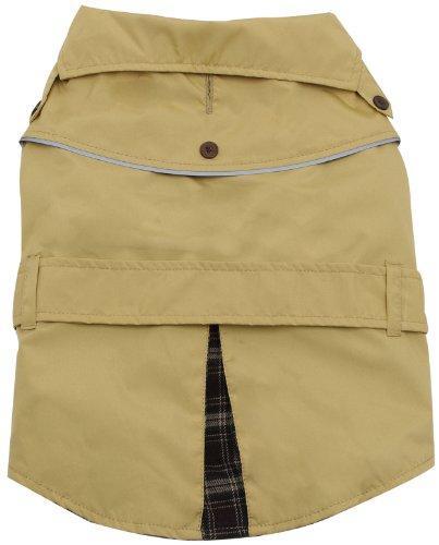 Dogit Trench Dog Coat, XX-Large, Beige