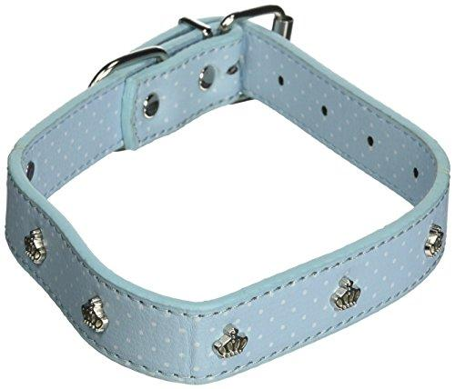 East Side Collection Charmers Collar, 14 to 18-Inch, Blue