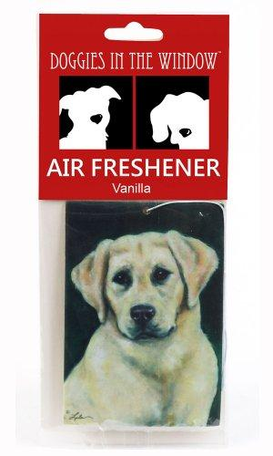 Doggies in the Window Yellow Labrador Air Freshener, Vanilla