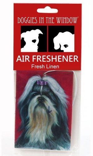 Doggies in the Window Shih Tzu Air Freshener, Fresh Linen