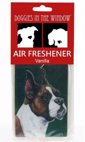 Doggies in the Window Boxer Air Freshener, Vanilla