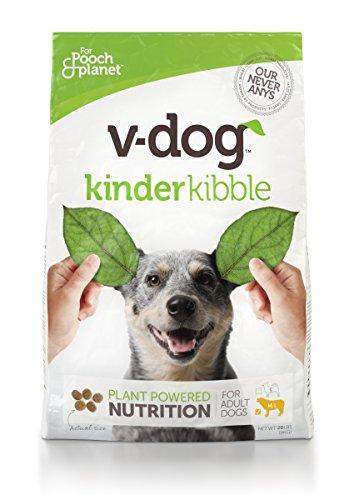 V-Dog Vegan Kibble Dry Dog Food, 20 lb