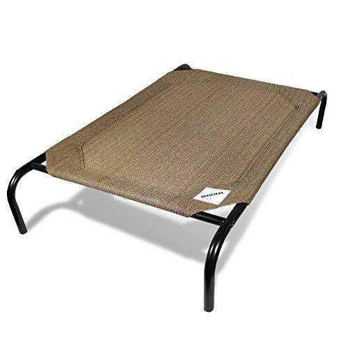The Original Elevated Pet Bed By Coolaroo - Large Nutmeg