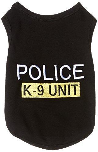 Parisian Pet Police Dog T-Shirt, Large