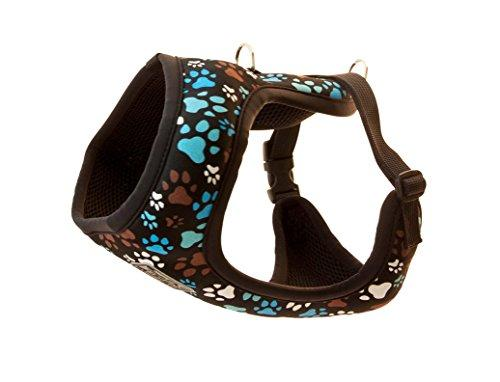 RC Pet Products Cirque Soft Walking Dog Harness, Large, Pitter Patter Chocolate