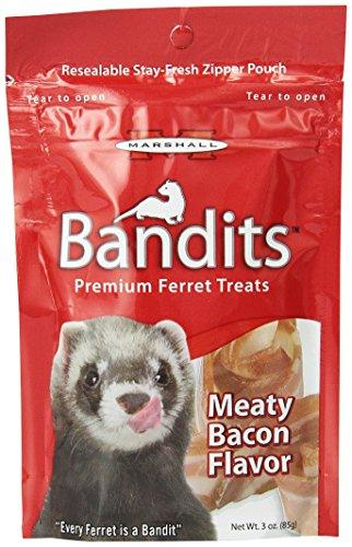 Marshall FD-382 Bandits Ferret Treats Bacon, 3 Oz.