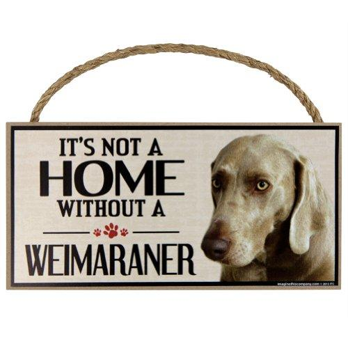 Imagine This Wood Sign for Weinmaraner Dog Breeds