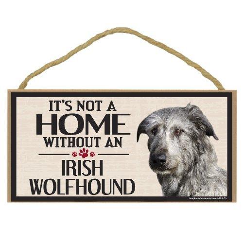 Imagine This Wood Sign for Irish Wolfhound Dog Breeds