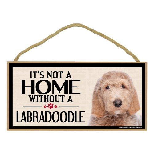 Imagine This Wood Breed Sign, Its All About My Labra Doodle