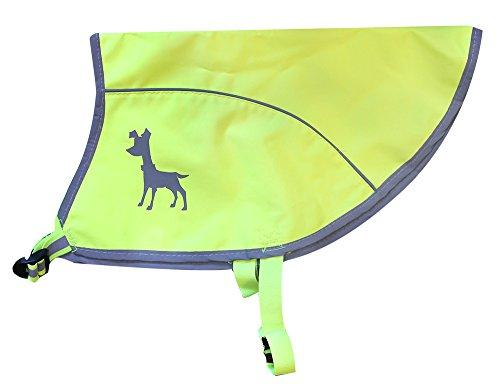 Alcott Essentials Visibility Dog Vest, Medium, Neon Yellow with Reflective Accents