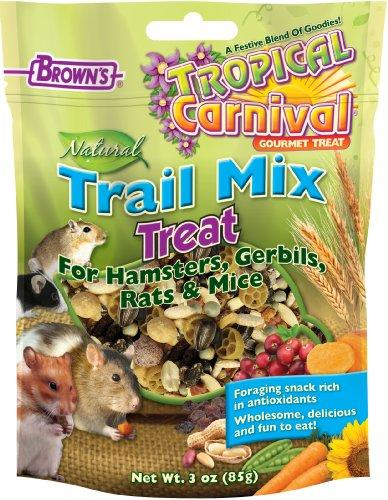 F.M.Browns Tropical Carnival Natural Trail Mix Hamster Treat